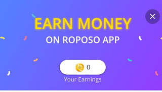 Roposo App Refer Earn