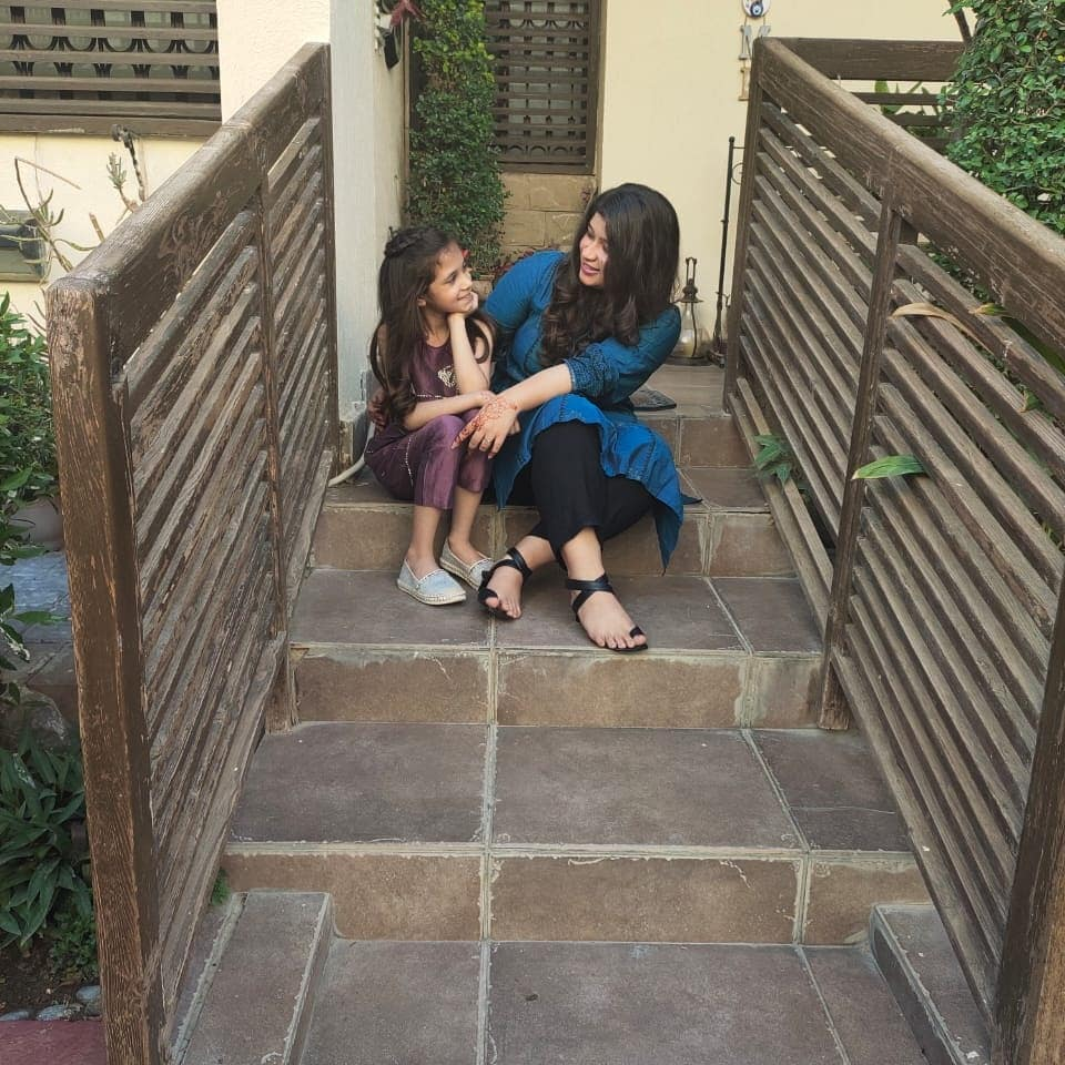 Fahad Mustafa Beautiful Pictures with his Family