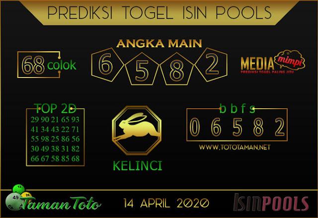 Prediksi Togel ISIN TAMAN TOTO 14 APRIL 2020