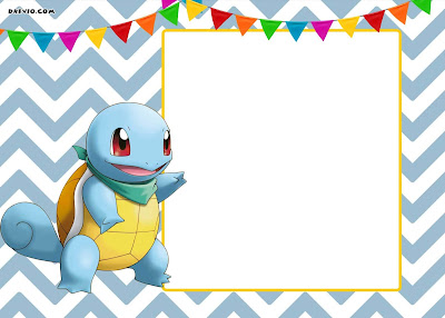 Free Custom Pokemon Birthday Invitations