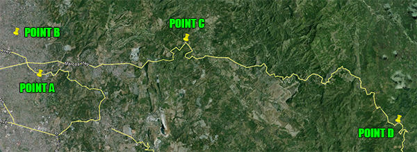 Route, Bike Challenge: The Sierra Madre Experience