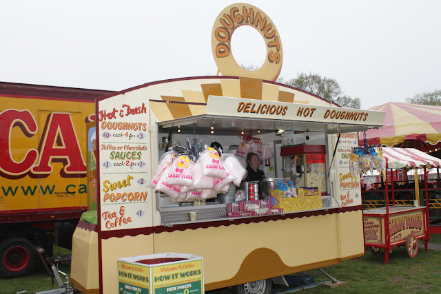 Carters Steam Fair Doughnut Van.