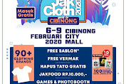 Jakcloth To Goes Cibinong City Mall 6 - 9 Februari 2020