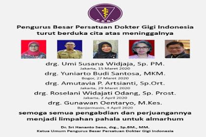 Daftar 22 Dokter di Indonesia yang Meninggal karena Covid 19