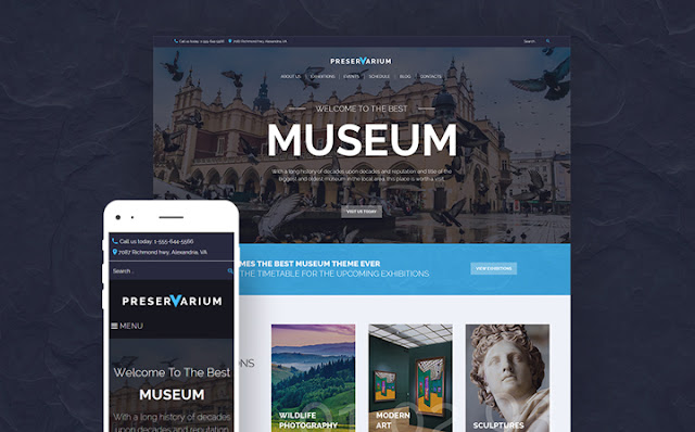 Museum WP Theme