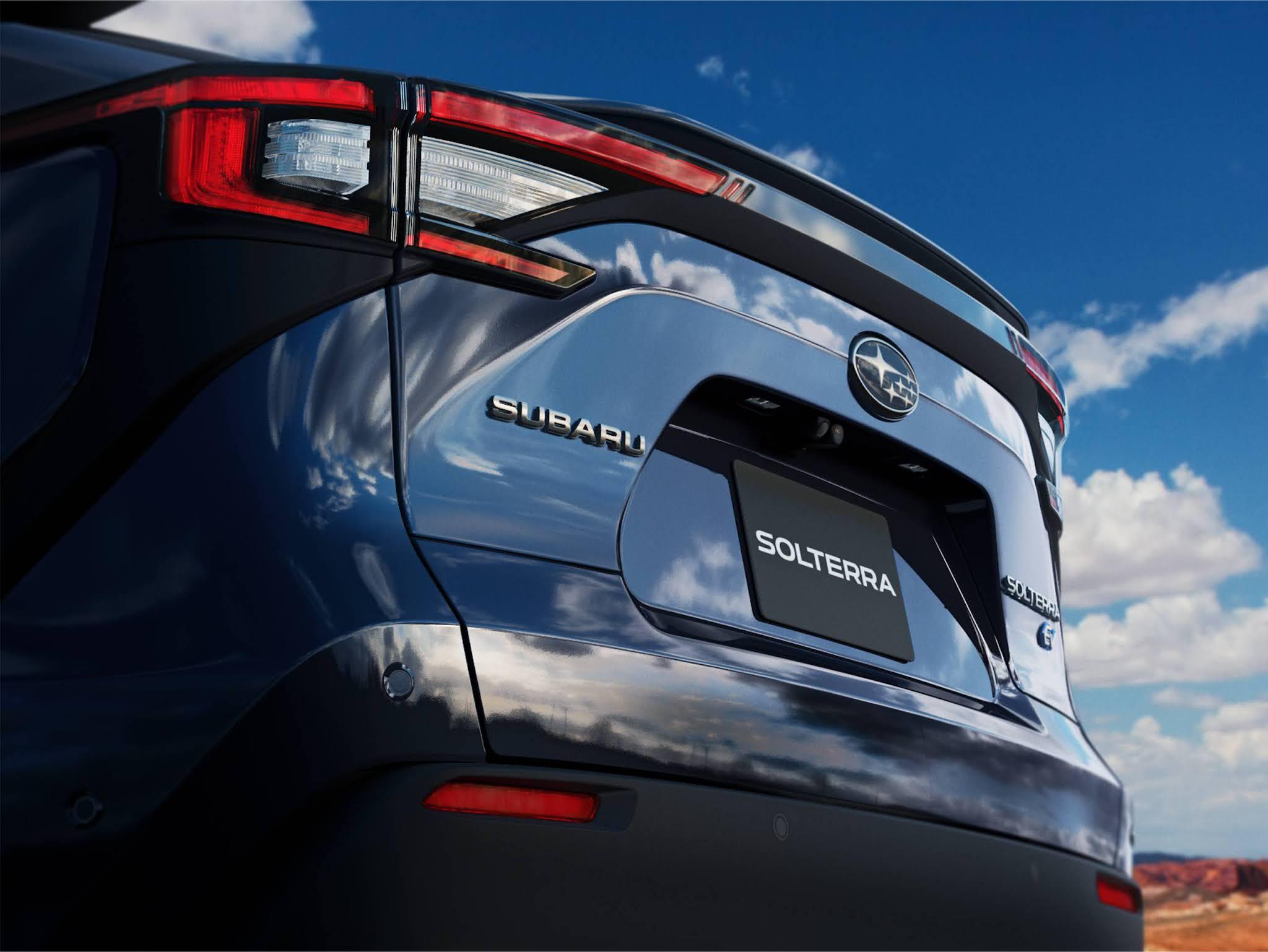 Subaru SOLTERRA: novo SUV 100% elétrico chega ao mercado em 2022