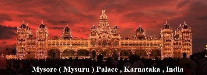 mysore (Mysuru) Palace, Karnataka India