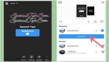 Cara Menambahkan Teman Di Obrolan Grup DM Instagram Stiker Chat