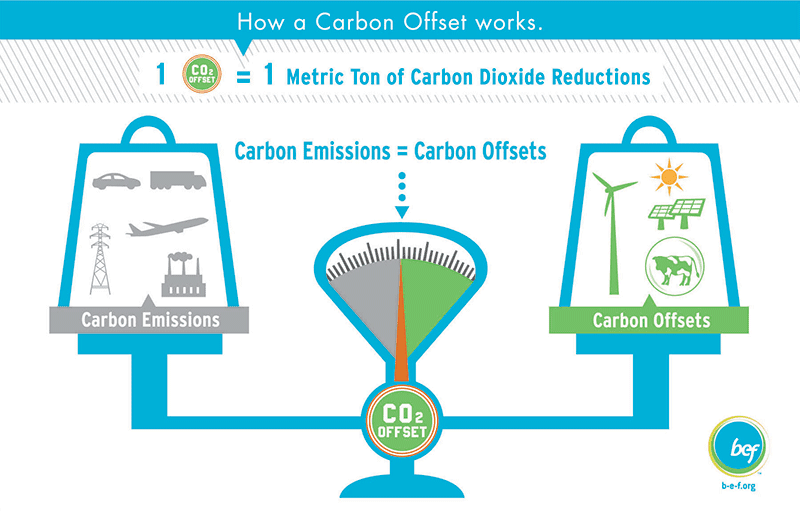 Sustainable Act Carbon Credits Trade Offset