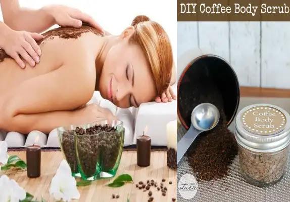 تجارب سكراب القهوة للسيلوليت