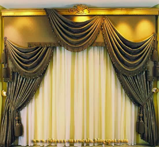 rideaux marocain numero 1 des rideaux occultants 2013. Black Bedroom Furniture Sets. Home Design Ideas