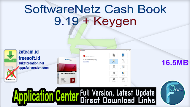 SoftwareNetz Cash Book 9.19 + Keygen_ ZcTeam.id