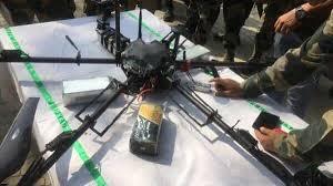 পাকিস্তানী ড্রোনকে গুলি করে নামাল নিরাপত্তা বাহিনী