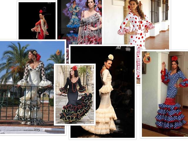 2647e66e1 Patrones gratis  vestidos de flamenca (varios modelos) - yo elijo Coser
