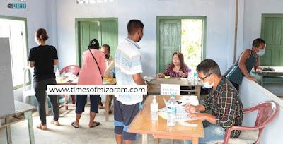 Mizoram Election vote thlak