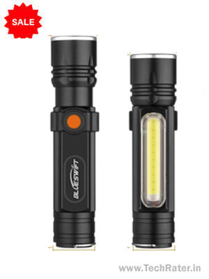 Best Rechargeable Flashlight Torch [Bright & Waterproof]