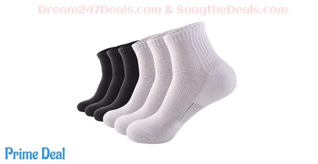 50%OFF Taxzode Mens Comfort Low Cut Runing Socks Ankle Althletic Socks…