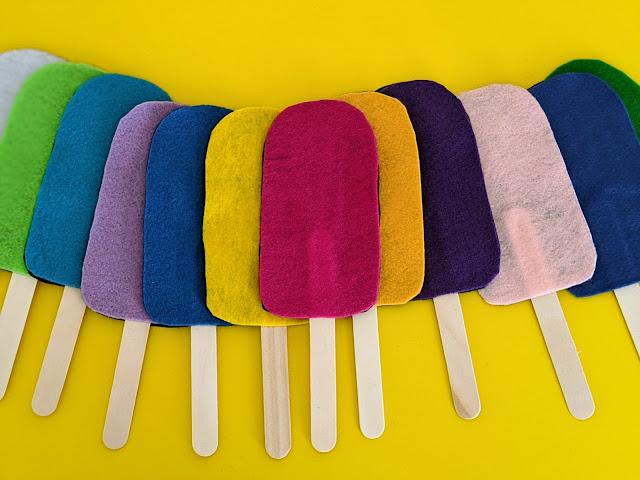 DIY Popsicle Memory Game for Kids