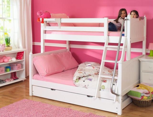 Ảnh 2: Cách thiết kế đơn giản, mẫu giường tầng giúp tiết kiệm diện tích hiệu quả