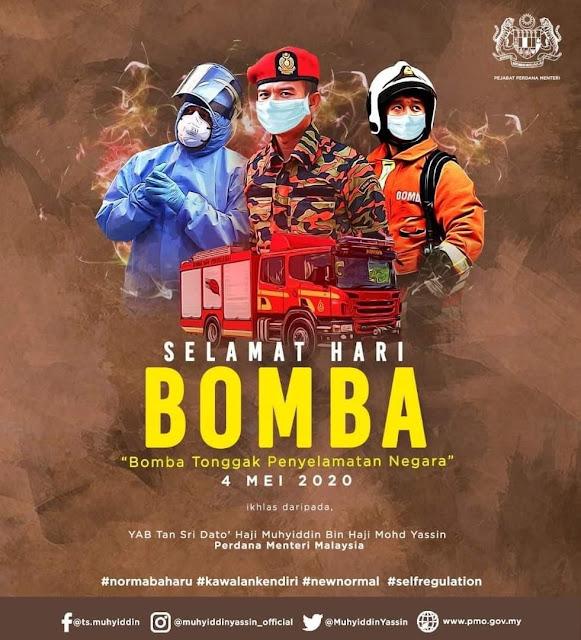 Selamat Hari Bomba Sedunia 4 Mei 2020