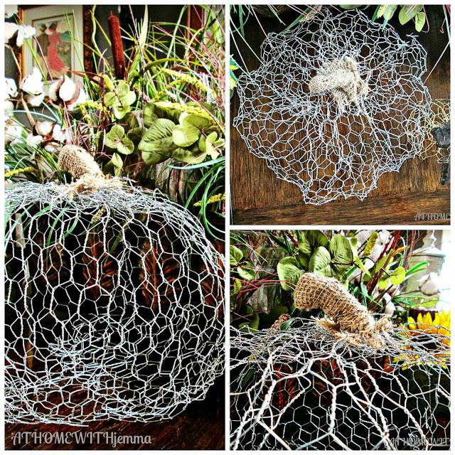 fall-décor-craft-tutorial-athomewithjemma-chicken-wire-handmade