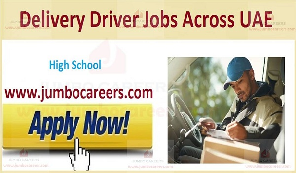 Available driver job sin UAE, Current Driver jobs in UAE,