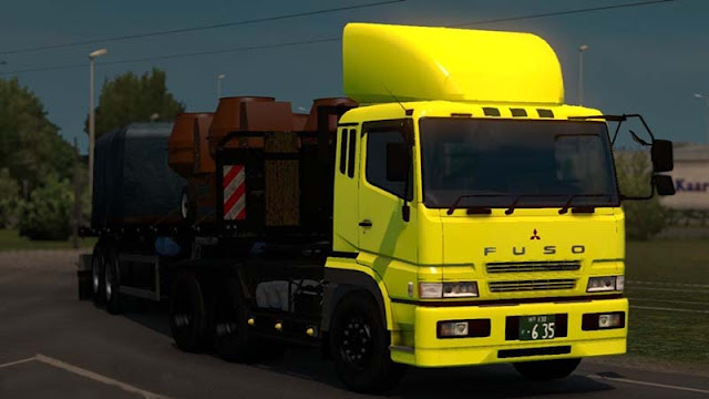 Mod Fuso Super Great V1.3 Euro Truck Simulator 2