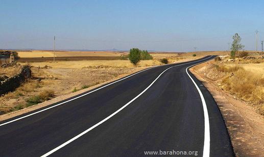 Carretera de Barahona a Marazovel