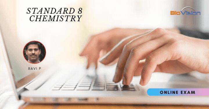 Standard 8 Chemistry - Unit 2 Online Exam MM & EM