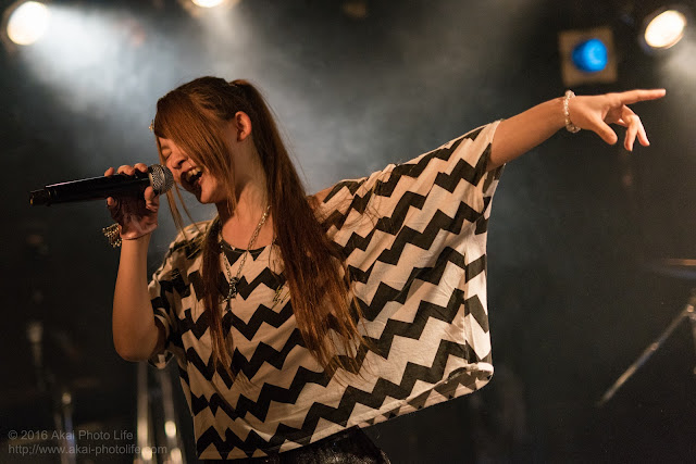 森乃真琴、モルガーナで撮影したライブの写真