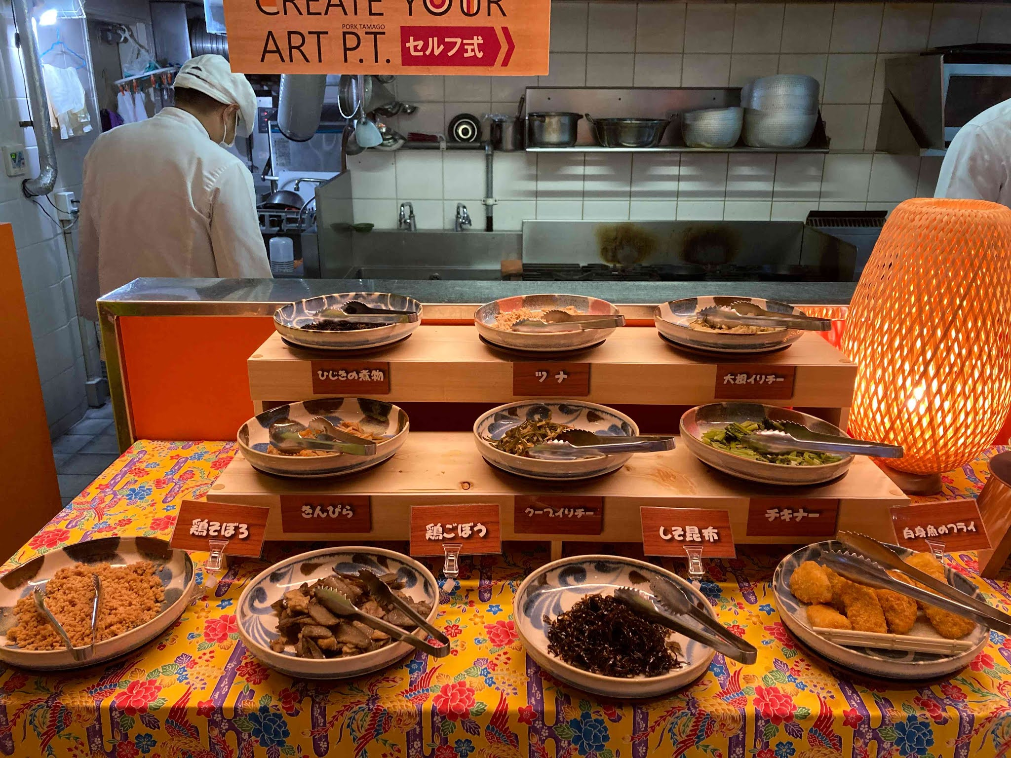 ホテルWBFアートステイ那覇 ブッフェスタイルの朝食