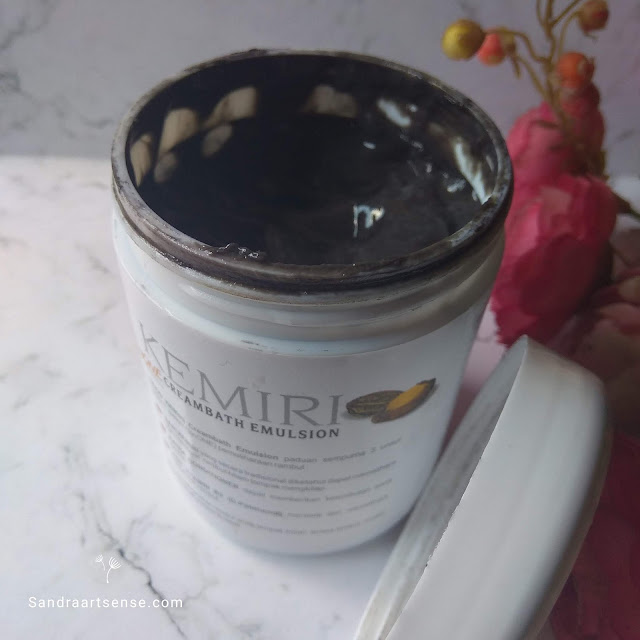 Review Good Kemiri Creambath, Perawatan Rambut Hitam Berkilau