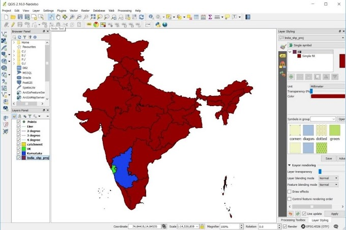 Cartography/Map Composition in QGIS