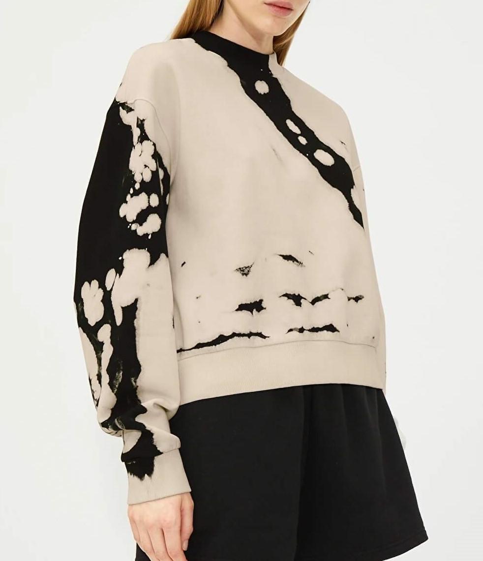 amaze printed sweatshirt