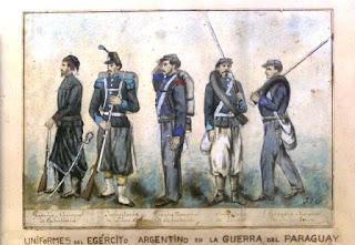 De menor rango, existían Comandancias militares sueltas en isla Martín García, Bahía Blanca, Fuerte Patagones, San Nicolás, Frontera Norte de Salta y