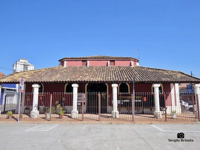 Vista ampla da Casa de Cultura de Santo Amaro (antigo Mercado Municipal) - Santo Amaro - São Paulo