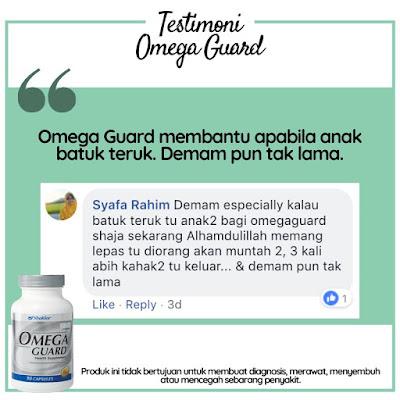 Omega Guard Shaklee : Keistimewaan, Kebaikan Dan Testimoni