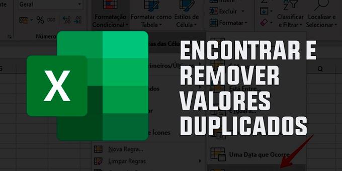 Como localizar valores duplicados no Excel na mesma coluna?