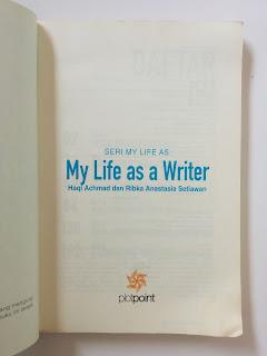 My Life As Writer