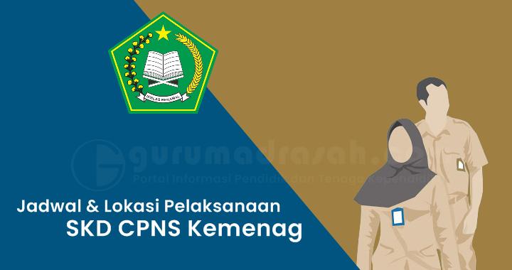 Jadwal dan Lokasi Pelaksanaan SKD CPNS Kementerian Agama Tahun 2021 Tahap I
