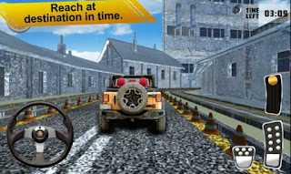 Real Jeep 3D Parking Fast Screenshot