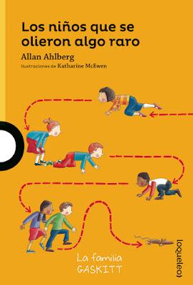 Los libros de Allan Ahlberg sobre la Familia Gaskitt son muy divertidos