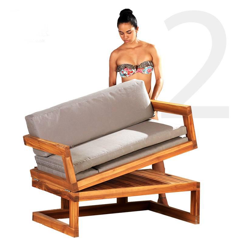 Mueble silla cama sill n - Sillon para cama ...