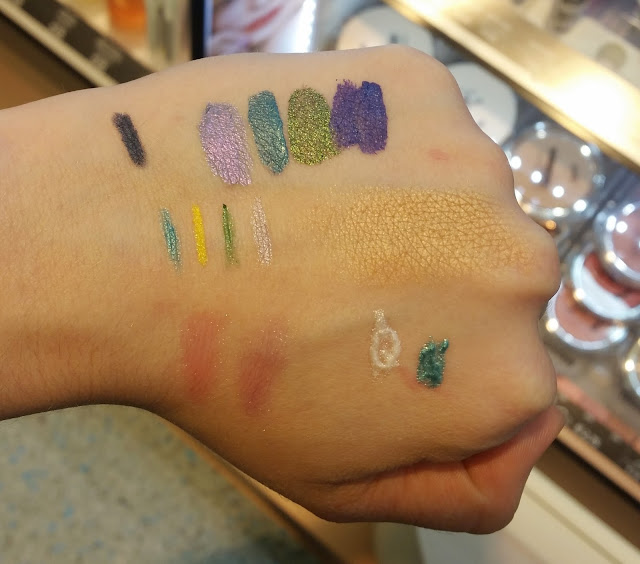 p2 Beyond Lagoon LE Swatches
