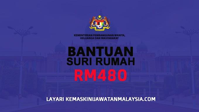 Cara-Cara Memohon Bantuan RM480 Suri Rumah 2021