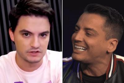 Leo Dias volta a falar da sexualidade de Felipe Neto e faz nova revelação