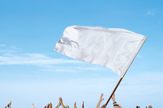 microsoft white flag waving