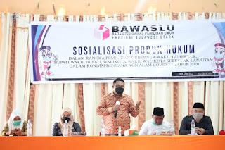 Pimpinan Bawaslu Sulut Supriyadi pangellu
