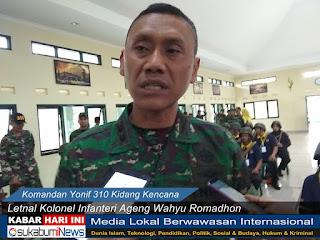 Komandan Yonif 310KK, Letnal Kolonel Infanteri Ageng Wahyu Romadhon