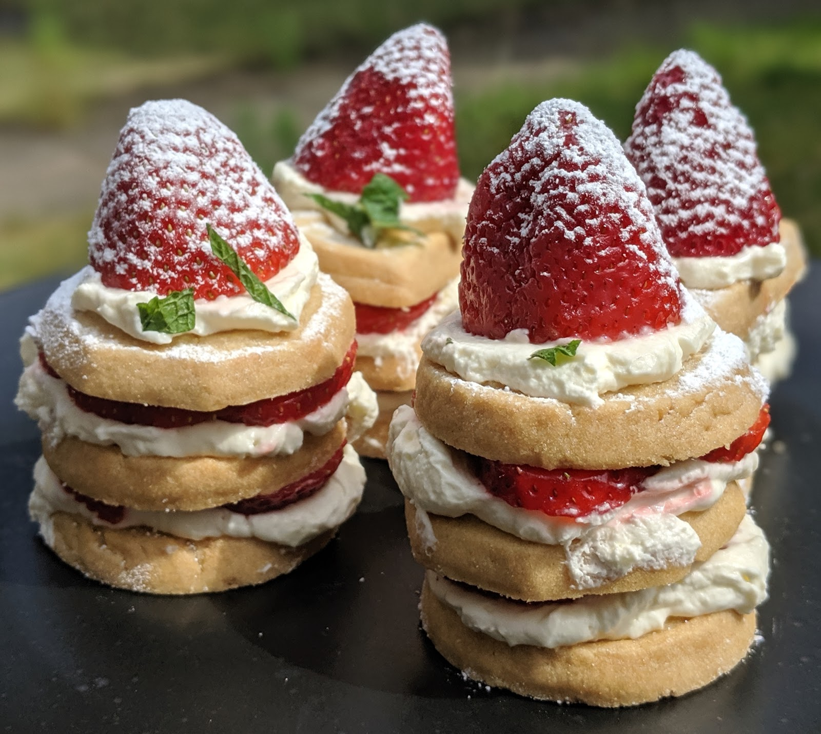 Elevate your next BBQ with these simple recipes - Scottish Strawberry Shortcake Stacks with Scotty Brand